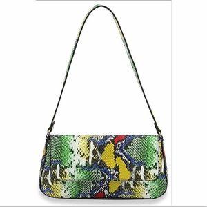 Vegan Snakeskin Handbag